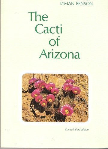 The Cacti of Arizona - Wide World Maps & MORE! - Book - Brand: Univ of Arizona Pr - Wide World Maps & MORE!