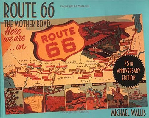 us topo - Route 66: The Mother Road 75th Anniversary Edition - Wide World Maps & MORE! - Book - Wide World Maps & MORE! - Wide World Maps & MORE!