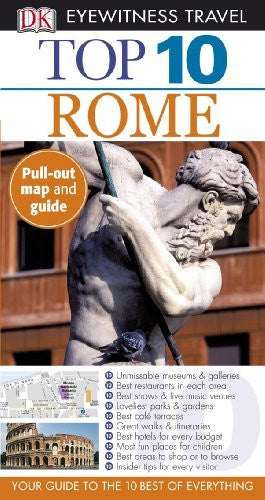 us topo - Top 10 Rome (Eyewitness Top 10 Travel Guides) - Wide World Maps & MORE! - Book - Brand: DK Travel - Wide World Maps & MORE!