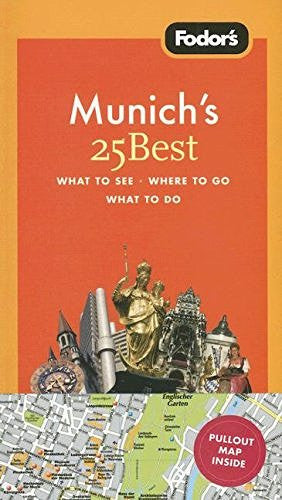 us topo - Fodor's Munich's 25 Best, 4th Edition - Wide World Maps & MORE! - Book - Wide World Maps & MORE! - Wide World Maps & MORE!