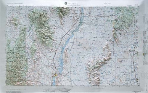 us topo - Tularosa, New Mexico - Wide World Maps & MORE! - Book - Wide World Maps & MORE! - Wide World Maps & MORE!