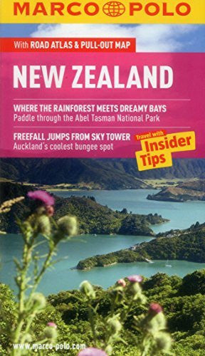 New Zealand Marco Polo Guide (Marco Polo Guides) - Wide World Maps & MORE! - Book - Marco Polo Travel Publishing (COR) - Wide World Maps & MORE!