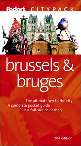 us topo - Fodor's Citypack Brussels & Bruges, 2nd edition (Citypacks) - Wide World Maps & MORE! - Book - Brand: Fodor's - Wide World Maps & MORE!