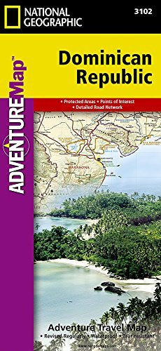 us topo - Dominican Republic (National Geographic Adventure Map) - Wide World Maps & MORE! - Book - National Geographic - Wide World Maps & MORE!