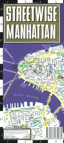 us topo - Streetwise Manhattan - Wide World Maps & MORE! - Book - Brand: Streetwise Maps - Wide World Maps & MORE!