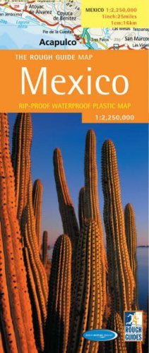 The Rough Guide to Mexico Map (Rough Guide Country/Region Map) - Wide World Maps & MORE! - Book - Brand: Rough Guides - Wide World Maps & MORE!