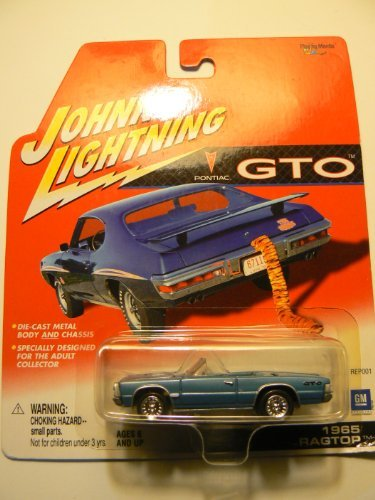 Johnny Lightning GTO 1965 Ragtop - Wide World Maps & MORE! - Toy - Johnny Lightning - Wide World Maps & MORE!