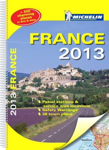 France 2013 (Michelin Tourist and Motoring Atlases)