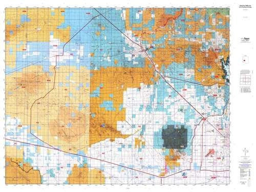 Arizona GMU 42 Hunt Area / Game Management Units (GMU) Map