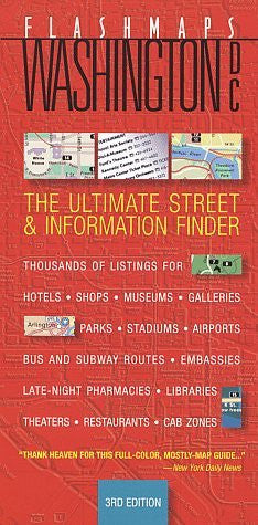 Flashmaps Washington, DC: The Ultimate Street & Information Finder (Fodor's Flashmaps)