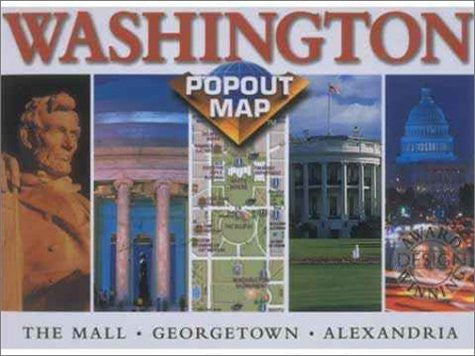 Washington D.C. Popout Map - Wide World Maps & MORE! - Book - Wide World Maps & MORE! - Wide World Maps & MORE!