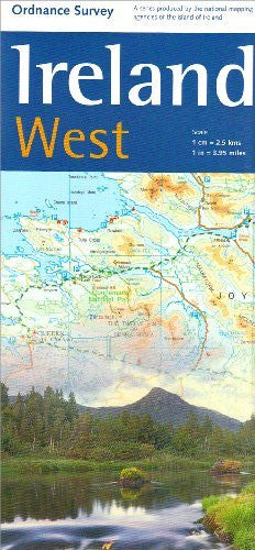 Ireland West Map 1:250 000 OS (Irish Maps, Atlases and Guides) - Wide World Maps & MORE! - Book - Wide World Maps & MORE! - Wide World Maps & MORE!
