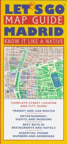 us topo - Let's Go Map Guide Madrid (Let's Go Map Guides) - Wide World Maps & MORE! - Book - Wide World Maps & MORE! - Wide World Maps & MORE!