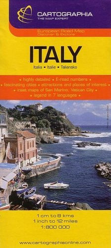 us topo - Italy (Country Map) - Wide World Maps & MORE! - Book - Cartographia - Wide World Maps & MORE!