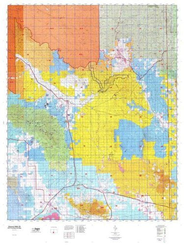 us topo - Arizona GMU 28 Hunt Area / Game Management Units (GMU) Map - Wide World Maps & MORE! - Book - Wide World Maps & MORE! - Wide World Maps & MORE!