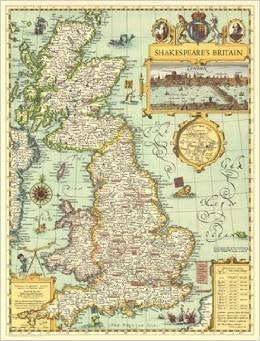 Shakespeare's Britain (Map)