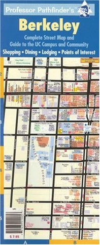 Berkeley: Complete Street Map and UC Campus Guide