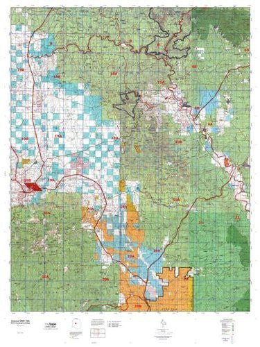 us topo - Arizona GMU 19A Hunt Area / Game Management Units (GMU) Map - Wide World Maps & MORE! - Book - Wide World Maps & MORE! - Wide World Maps & MORE!