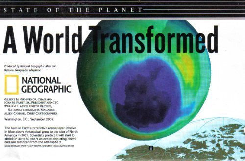 A World Transformed: State of the Planet