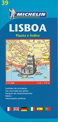 Michelin Lisboa Map (Map) (Portuguese Edition)