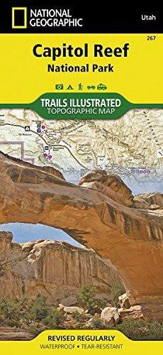 Capitol Reef National Park (National Geographic Trails Illustrated Map) - Wide World Maps & MORE! - Book - National Geographic - Wide World Maps & MORE!