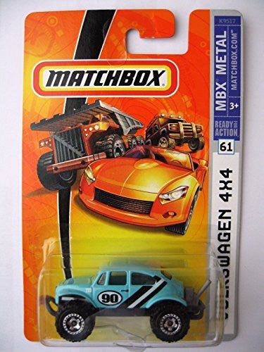 us topo - Qiyun Matchbox Volkswagen 4x4 Teal Variant 2008 MBX Metal 61 K9517 Offroad Race Car - Wide World Maps & MORE! - Toy - Wide World Maps & MORE! - Wide World Maps & MORE!