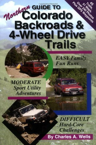 us topo - Guide to Northern Colorado Backroads & 4-Wheel Drive Trails - Wide World Maps & MORE! - Book - Brand: Funtreks Inc - Wide World Maps & MORE!