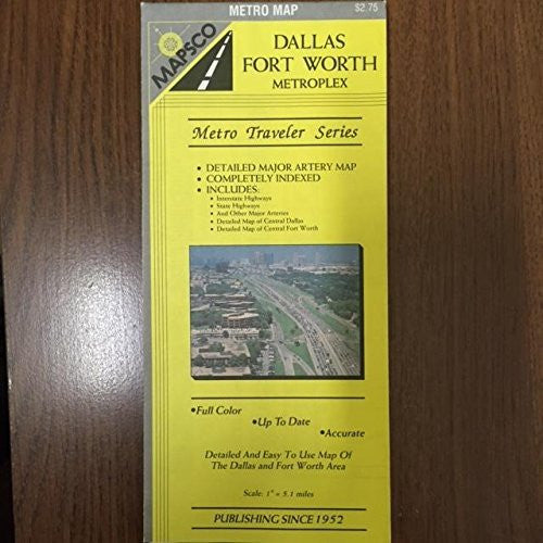 us topo - Dallas Fort Worth Metroplex Metro Map - Wide World Maps & MORE! - Book - Wide World Maps & MORE! - Wide World Maps & MORE!