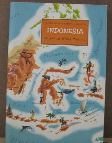 Indonesia, Around the World Program (Book with Stickers)