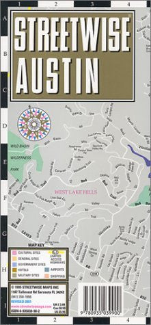 Streetwise Austin - Wide World Maps & MORE! - Book - Wide World Maps & MORE! - Wide World Maps & MORE!