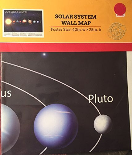 Solar System Wall Map