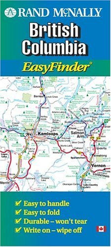 us topo - British Columbia - Wide World Maps & MORE! - Book - Rand McNally - Wide World Maps & MORE!