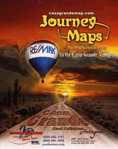 Casa Grande, Arizona: The FUNctional Map in the Casa Grande Valley (Journey Maps: The FUNctional Map)