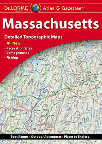 DeLorme® Massachusetts Atlas & Gazetteer