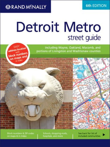 Rand Mcnally Detroit Metro Street Guide