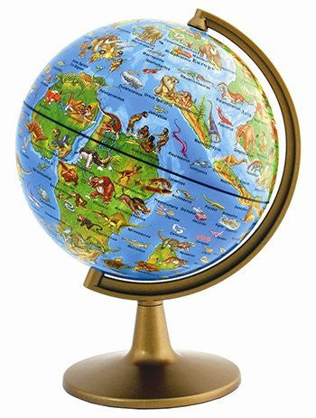 Prehistoric World Globe 6In