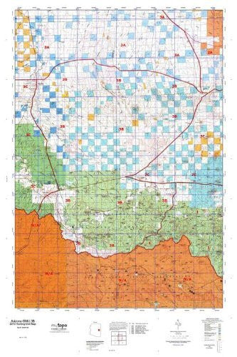 us topo - Arizona GMU 3B Hunt Area / Game Management Units (GMU) Map - Wide World Maps & MORE! - Book - Wide World Maps & MORE! - Wide World Maps & MORE!