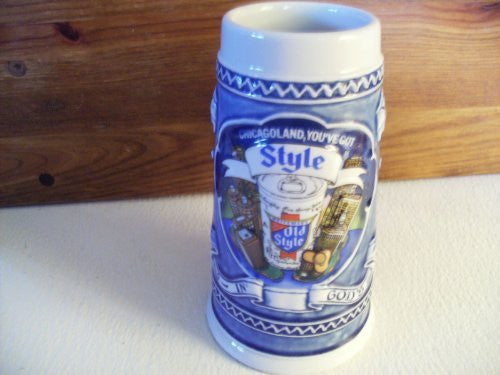 us topo - 1982 Chicagoland, You've Got Style Old Style Stein #94182 - Wide World Maps & MORE! - Kitchen - Old Style - Wide World Maps & MORE!
