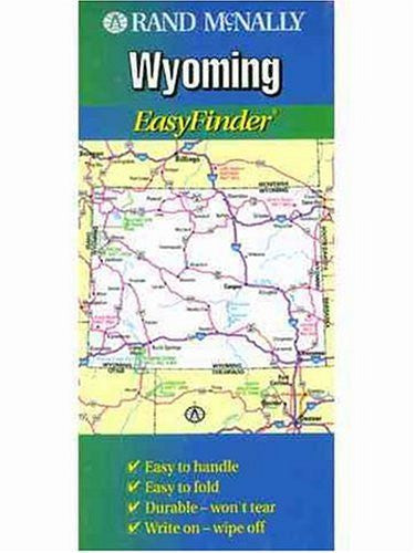 Wyoming Easy Finder - Wide World Maps & MORE! - Book - Brand: Rand Mcnally - Wide World Maps & MORE!