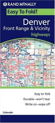 us topo - Denver Front Range & Vicinity (Rand McNally Easyfinder) - Wide World Maps & MORE! - Book - Rand McNally - Wide World Maps & MORE!
