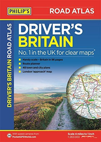 Philip's Driver's Atlas Britain 2015