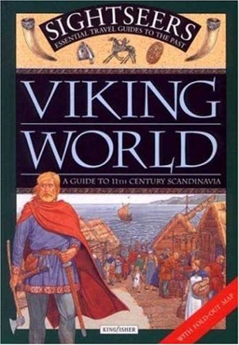 us topo - Viking World: A Guide to 11th Century Scandinavia (Sightseers) - Wide World Maps & MORE! - Book - Brand: Kingfisher - Wide World Maps & MORE!