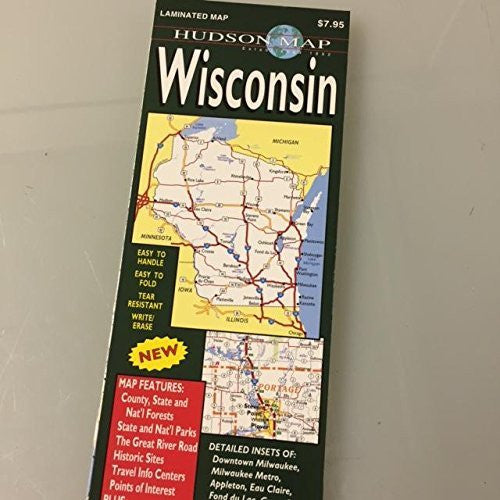 us topo - Wisconsin Laminated Map - Wide World Maps & MORE! - Book - Wide World Maps & MORE! - Wide World Maps & MORE!