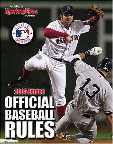 us topo - Official Baseball Rules 2005 Edition - Wide World Maps & MORE! - Book - Brand: Sporting News - Wide World Maps & MORE!