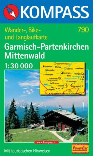 790: Garmisch - Parten - Kirchen - Mittenwald 1:30, 000 - Wide World Maps & MORE! - Book - Wide World Maps & MORE! - Wide World Maps & MORE!