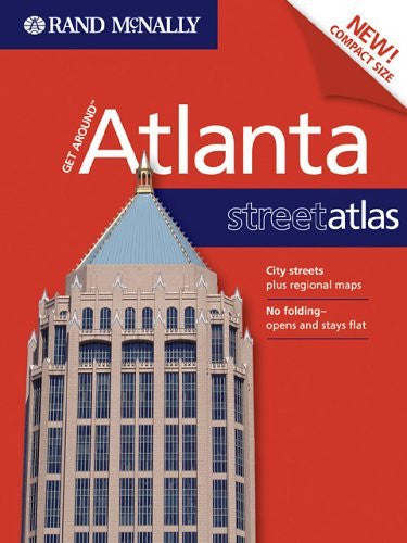 Rand McNally Get Around Atlanta Street Atlas - Wide World Maps & MORE! - Book - Brand: Rand Mcnally - Wide World Maps & MORE!