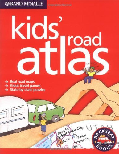 us topo - Rand McNally Kids' Road Atlas (Backseat Books) - Wide World Maps & MORE! - Book - Zonderkidz - Wide World Maps & MORE!