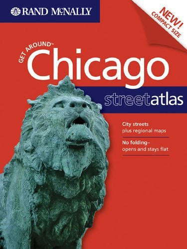 us topo - Get Around Chicago Street Atlas 1ed Il - Wide World Maps & MORE! - Book - Rand McNally - Wide World Maps & MORE!