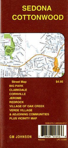 Sedona/Cottonwood 28.8k GMJ - Wide World Maps & MORE! - Book - Wide World Maps & MORE! - Wide World Maps & MORE!