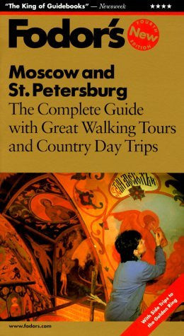 us topo - Fodor's Moscow and St. Petersburg (4th Edition) - Wide World Maps & MORE! - Book - Wide World Maps & MORE! - Wide World Maps & MORE!
